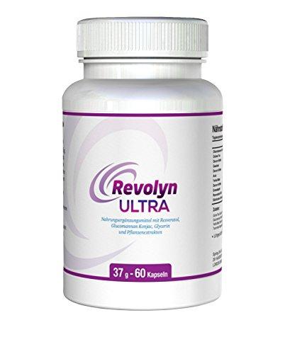 REVOLYN ULTRA - Schnell & natürlich abnehmen. Top Diät-Pille für gesunden Gewichtsverlust. Schlankheits und Abnehm-Tabletten.