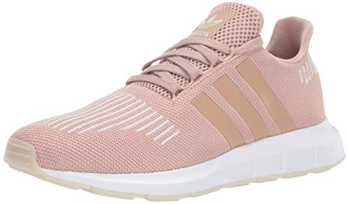 adidas Originals Women's Swift Running Shoe, ,ash pearl/off white/white, 6.5 M US (Best Adidas Sneakers 2019)