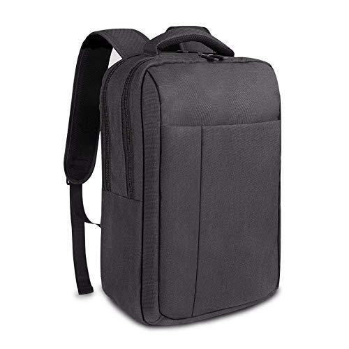 86c2a6539e71 REYLEO Slim Business Laptop Backpack for Men Women for 14 inch Laptop Small College  School Bag Water Resistant Work Rucksack Dark Grey RB11 - Buy Online in ...