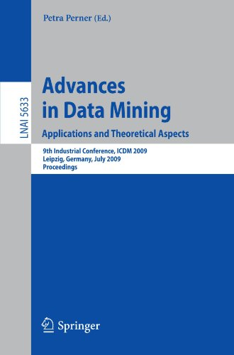 Advances in Data Mining. Applications and Theoretical Aspects: 9th Industrial Conference, ICDM 2009, Leipzig, Germany, July 20 - 22, 2009. Proceedings (Lecture Notes in Computer Science) by Brand: Springer