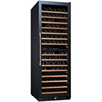(DR) NFINITY PRO L Dual Zone 166-Bottles Wine Cellar, Wine Cooler w/ Full Glass Door (S1011)