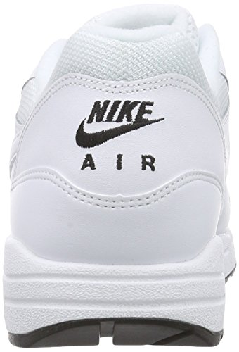 watch a57b7 f4695 ... Nike Air Max 1 Essential 537383 Herren Laufschuhe Weiß  (White/White-Black 125 ...