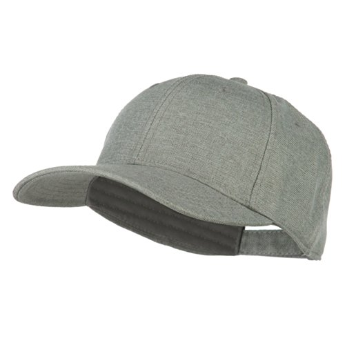 Solid Linen Pro Style Cap - Grey OSFM