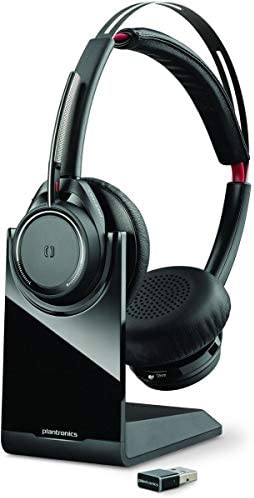 Plantronics Voyager Focus UC Bluetooth USB B825 202652-101 Headset with Active Noise Cancelling