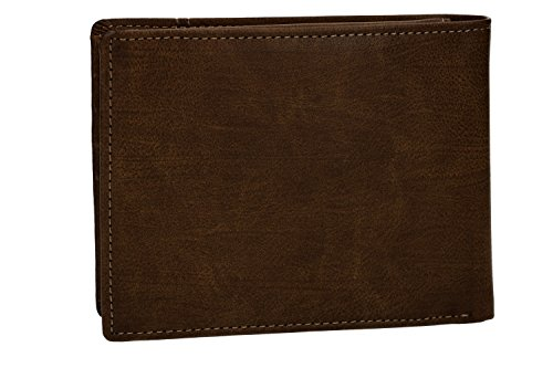 purse man leather coin brown and BASILE in with VA2585 flap ANTONIO Wallet qdCvYq