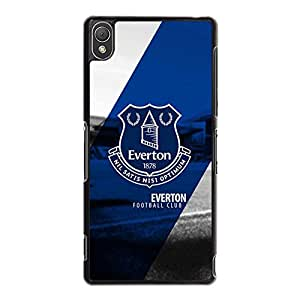 Special Design Premier League Football Team Phone Case for Sony Xperia Z3 Everton FC Logo Popular Style Mobile Phone Case