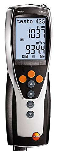 Testo 434-4 Multifunction Meter with Differential Pressure, Memory and Software (Part Number 0563 4354)