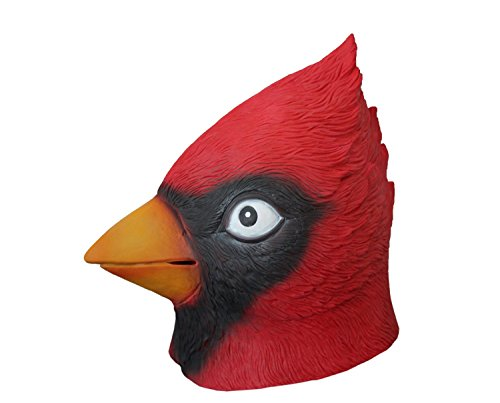 MostaShow Halloween Costume Cosplay Masks Latex Animal Full Head Masks (Angry -