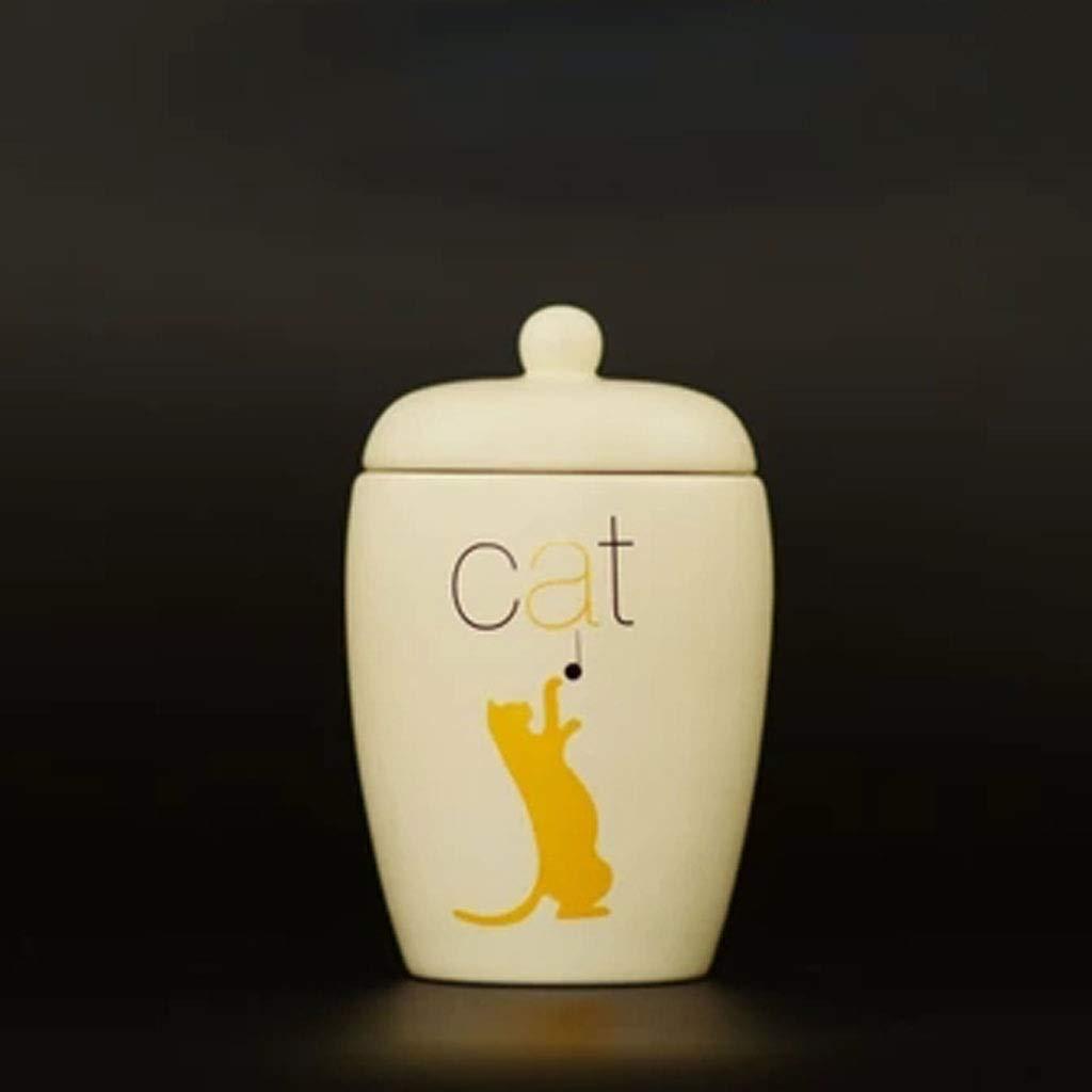 B MSNDD Pet Nest, Dog Cat Rabbit Rest Urn, Small Pet Commemorative Can, Pet Cremation Funeral Ritual Supplies, MoistureProof, Pet Tank Box, Souvenir (color   A)