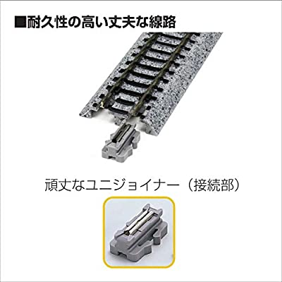Kato USA Model Train Products Unitrack, 249mm (9 3/4