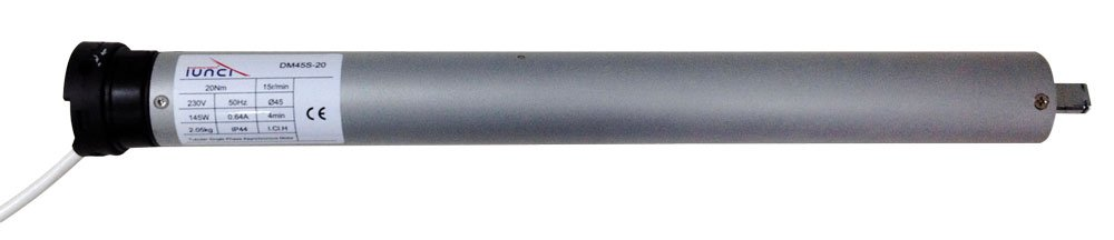 IUNCI 150.004 Motor tubular 50NW estándar 45mm con regulación de carrera mecánico vía cable para eje de 50, 60 ó 70 (50) 60 ó 70 (50) S.L