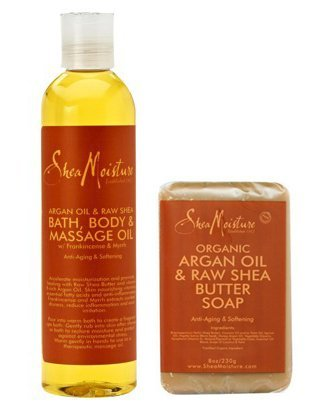 Shea Moisture ORGANIC Argan Butter