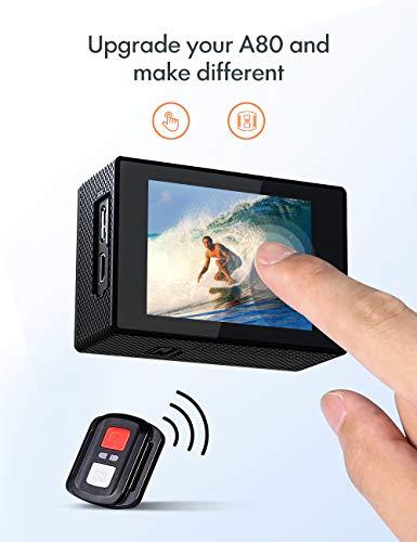 APEMAN Action Cam A87, Touch Screen 4K 4