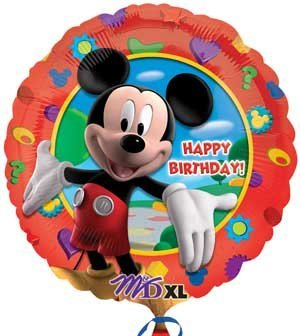 Anagram Halloween Balloons (Anagram International Mickey's Clubhouse Birthday Foil Balloon Pack,)