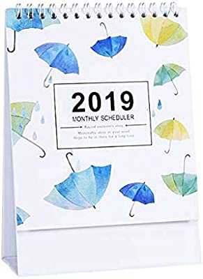 Agenda mensual/diaria, 2018-2019 Office/Home/School Calendar ...