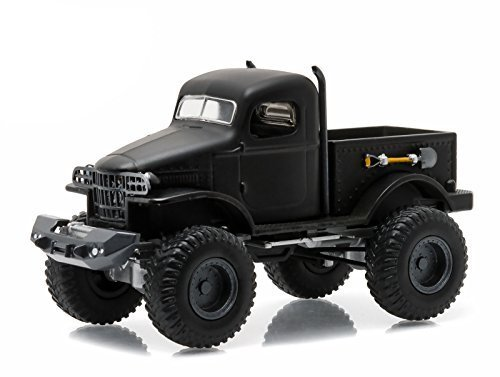 Greenlight 1:64 Black Bandit Series 14 1941 Military 1/2 Ton 4X4 Diecast Vehicle