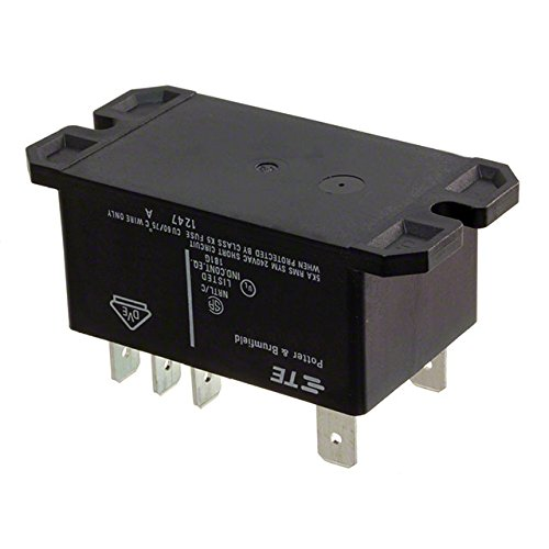 TE CONNECTIVITY/POTTER & BRUMFIELD T92S7A22-24 POWER RELAY, DPST-NO, 24VAC, 30A, PANEL