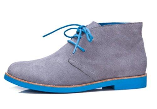 Ms. primavera e autunno rotonde scarpe tacco basso stivali in pizzo singoli stivali Miss Ma Dingxue , US6 / EU36 / UK4 / CN36