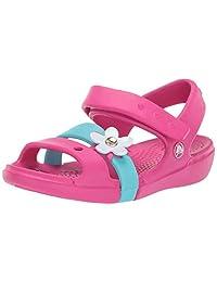 crocs Keeley Charm Sandalia para niñas