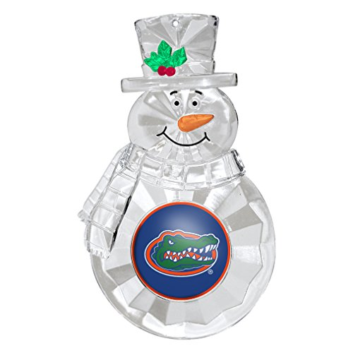 NCAA Florida Gators Traditional Snowman Ornament