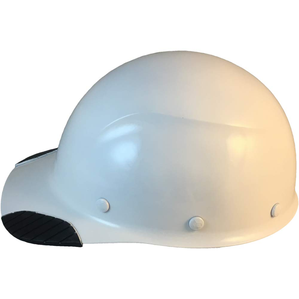 DAX Actual Carbon Fiber Cap Style Hard Hat - Glossy White: Amazon ca