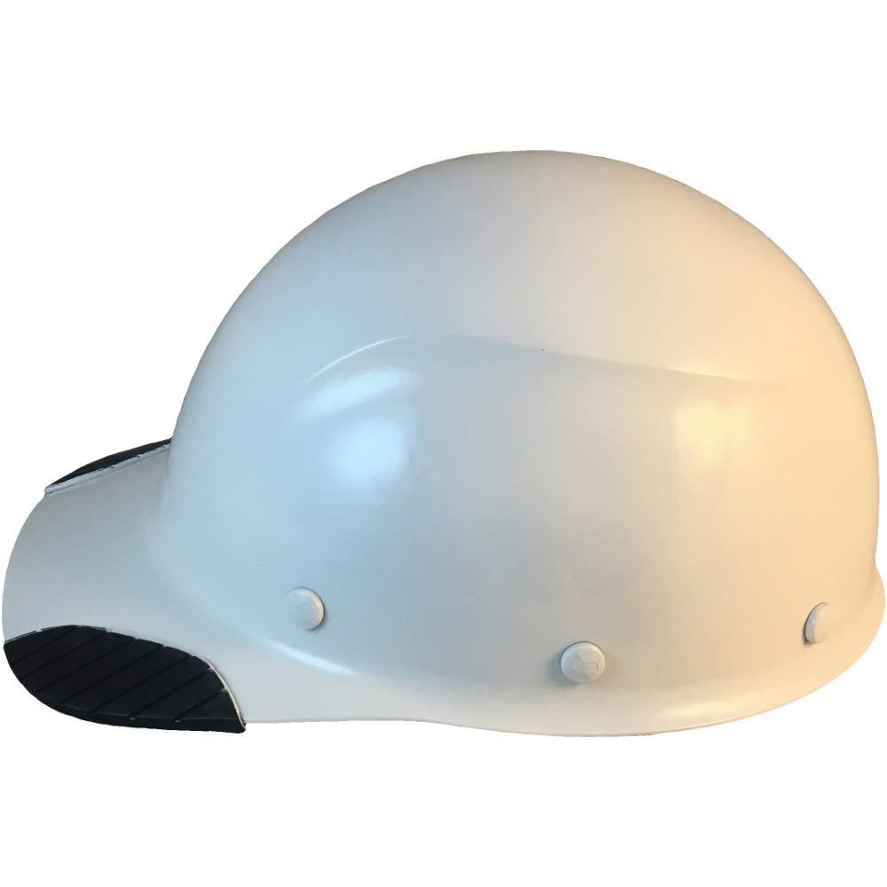 DAX Actual Carbon Fiber Cap Style Hard Hat - Glossy White: Amazon ca