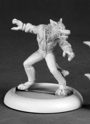 Reaper Miniatures 50211 Chrono Tommy The Wolf Man
