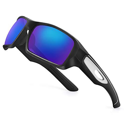 Polarized Sports Sunglasses for Men Women Ultralight Golf Tennis Baseball Cycling Running Driving Fishing Glasses, UV400 Protection TR90 Frame
