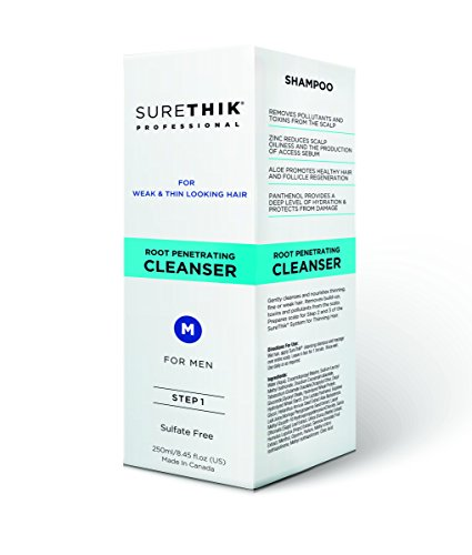 SureThik Root Penetrating Cleanser, Shampoo for Men