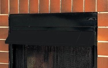 Superior Ga6050 Black Fireplace Hood Honeydo Advisor