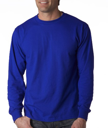 Men's long sleeve blended t-shirt.
