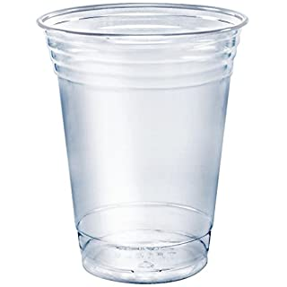 Stack Man Clear Disposable Plastic-Cups 16 oz. [100 Pack] Ultra PET Cold Drinks, Perfect Use for Party, Beer, Smoothies, Premium Quality (B001KJFPR8) | Amazon price tracker / tracking, Amazon price history charts, Amazon price watches, Amazon price drop alerts