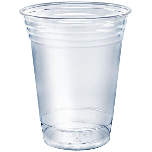 A World Of Deals Clear Plastic Cups, 100/16 oz Cup -