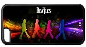 Colorful Vintage The Beatles Apple Iphone 5C Case Cover TPU Abbey Road