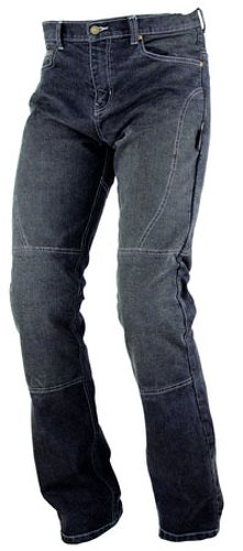 A-pro - Pantalones vaqueros ajustados para motocicleta, para mujer, con CE Armour Black 32
