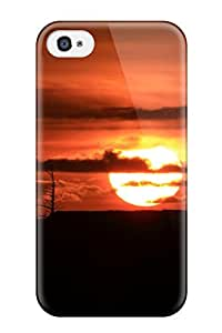 Premium Durable Lighthouse Sunset Fashion Tpu Iphone 4/4s Protective Case Cover