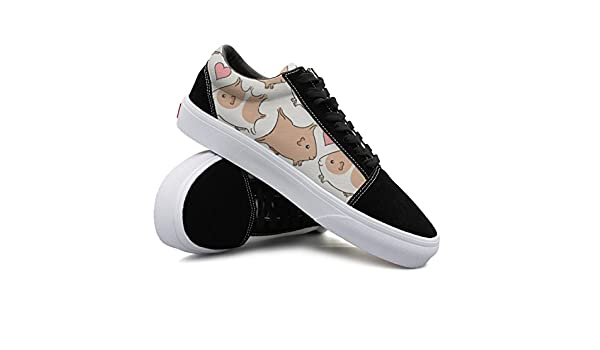 Guinea Pigs Kiss Women Casual Sneakers Boat Lo-Top Fashion Simple