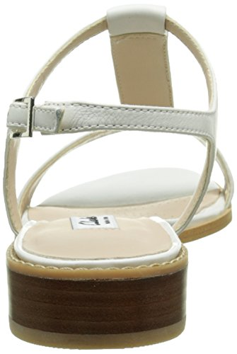 Salomés Blanc Shimmer Leather Clarks Femme white Bliss ax6qq1wE