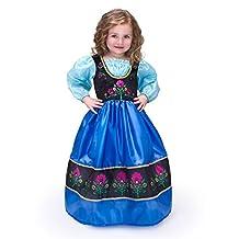 Little Adventures Traditional Scandinavian Princess Girls Costume - Medium (3-5 Yrs)