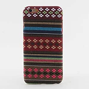 Colorful Stripe We Pattern fruits Textile Hard Back Case for iphone 5c a and