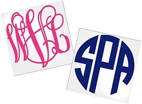 Monogram Stickers Choice Decals ADavis product image