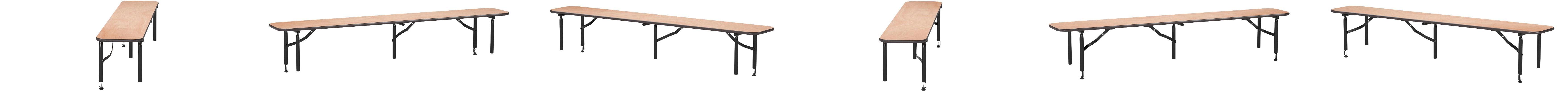 Amazon Com Flash Furniture 72 X 12 X 12 Bar Top Riser With Black Legs Furniture Decor