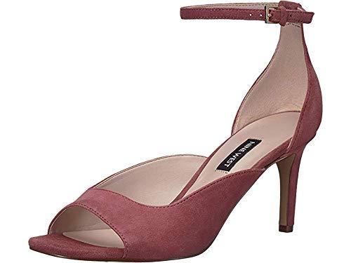 Nine West Womens Avielle Heeled Sandal Peony 8.5 M