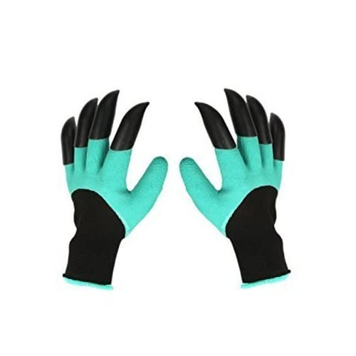 YSD Garden Genie Gloves With Claws Quick For Digging And Planting Nursery Plants Garden, Easy To Dig And Plant Safe For...