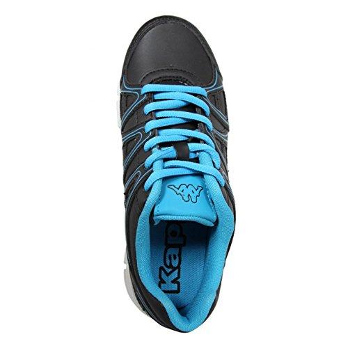 Chaussures de sport pour Garçon et Fille KAPPA 302E4L0 ULAKER C35 BLACK-TURQUOISE