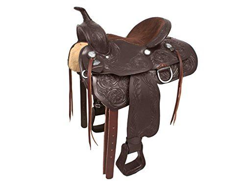 Tahoe Red River Western Pleasure Saddle