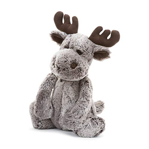 - Jellycat Bashful Marty Moose Stuffed Animal, Large, 15 inches