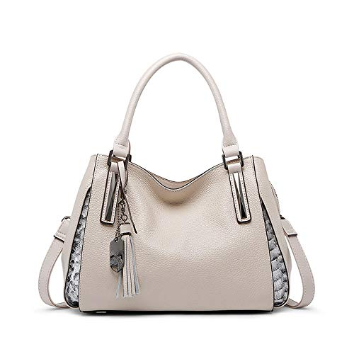 Travel Leather Lady One Donna Purse Beige Simple Joker Cosmetic Office Tracolla Maniglia Tracolla Traveller Tracolla 1cTK3lJF