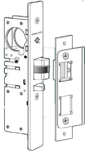 (Adams Rite 4530-36 Standard Duty Deadlatch For Aluminum Stile Doors (1-1/8