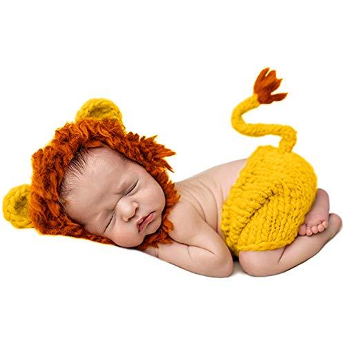 Disfraz de Fotografía de León Bebé Recién Nacido